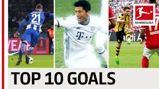 Top 10 goals - 2016/2017 season