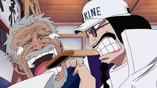 Fans Anime I One Piece IGarp and sen goku funny moment one piece