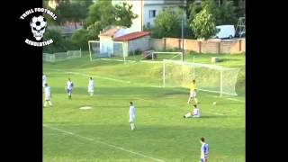 angry goalkeeper scores own goal on purpose