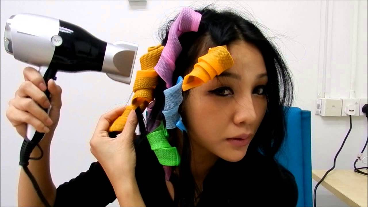 Demonstration On How To Use Magic Curler Youtube