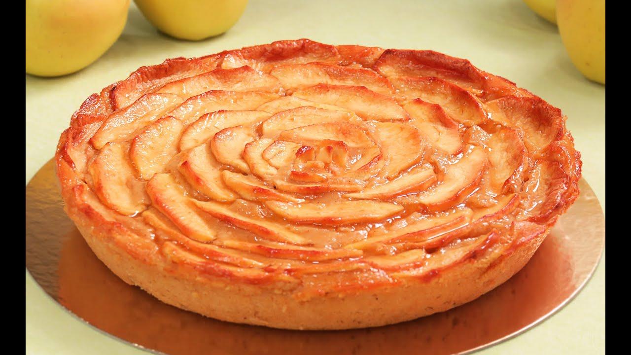 Tarta de manzana s per f cil y deliciosa youtube - Cocina con carmen ...