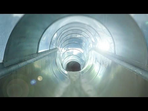 Aquarama Kristiansand - Speed Slide with Glass Onride POV