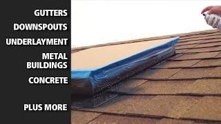 Jak uszczelnić dach sprayem ? | Uszczelnianie komina | Okien | Uszczelniacz Leak Seal