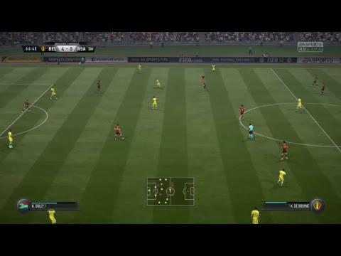 Belgio-Sud Africa     - Daily match FIFA 17