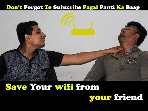 Save your wifi from your friends