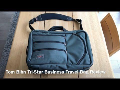 Tom Bihn Tri-Star Business Travel Bag Review