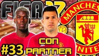 FIFA 17 Manchester United Modo Carrera #33 | PIERDO LA SUPERCOPA Y SE VA POGBA | CON PARTNER
