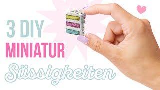 Video 3 DIY Miniatur Süssigkeiten aus FIMO 💖Miniaturen selber machen! Polymer Clay Geschenkideen download MP3, 3GP, MP4, WEBM, AVI, FLV Oktober 2018