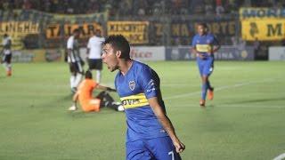 Gol de Cristian Pavón - Boca vs. Emelec - Amistoso