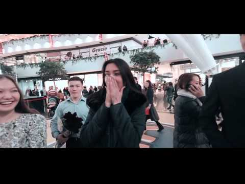 Взорвал интернет Предложение руки и сердца девушке Мадины от Марлена. Астана 08.03.2015