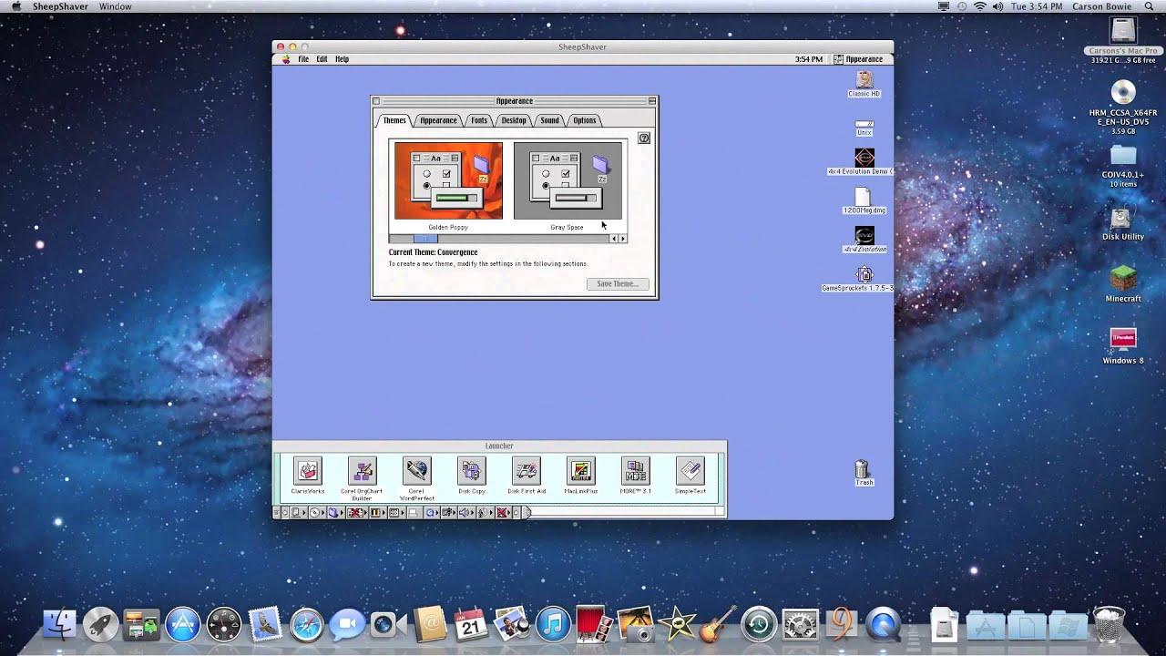 mac os 9 emulator for windows