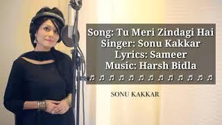 Tu Meri Zindagi Hai Lyrics - Sonu Kakkar | Aashiqui | Sonu kakkar Songs
