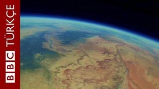 Kayıp meteoroloji balonunun çektiği görüntüler - BBC TÜRKÇE