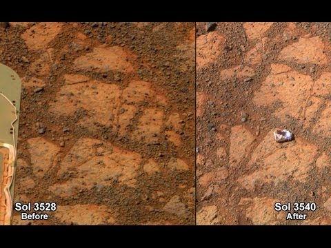 Martian Rock's Strange Appearance Has Explanation | Mars Science HD