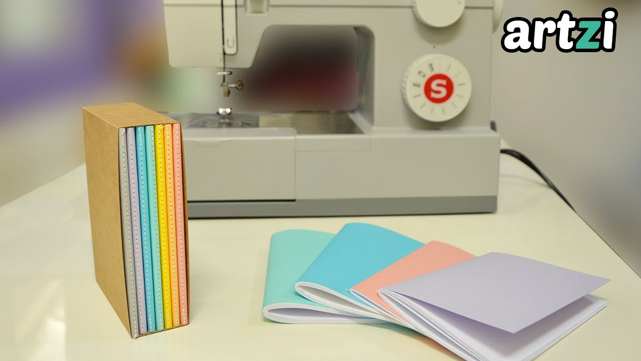 bookbinding with a sewing machine   paper slipcase diy