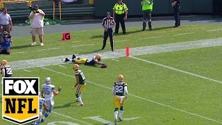 Ty Montgomery's brilliant play gives Packers ball at 40 yd line