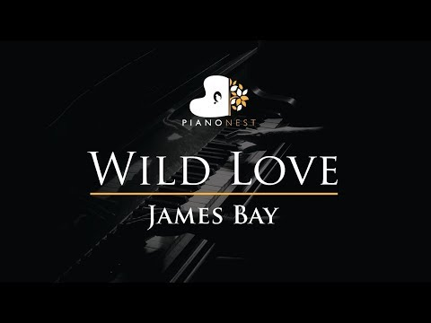 James Bay - Wild Love - Piano Karaoke / Sing Along / Cover with Lyrics