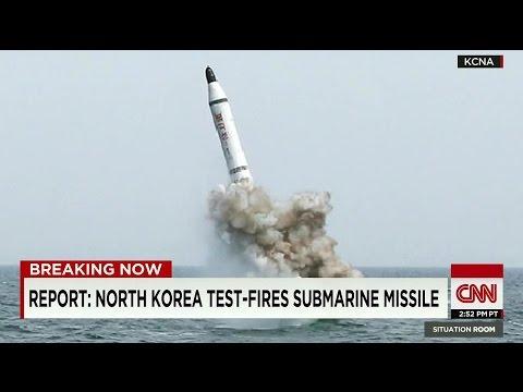 North Korea Submarine Launch Missile Test