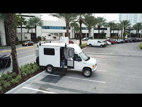 Escaping The Cold Weather in a Box Truck Camper