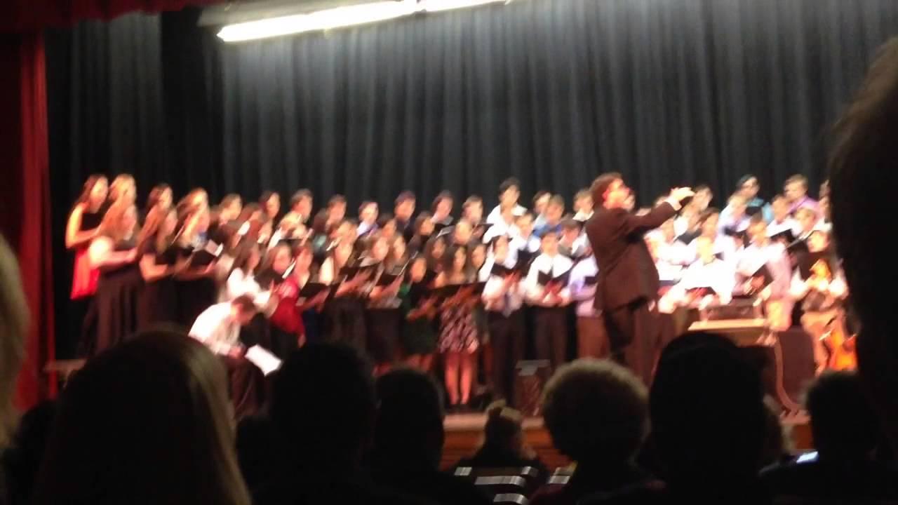 wethersfield high school chorus youtube