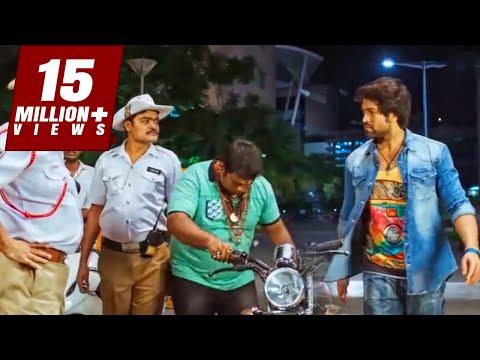 हीरो दारु पीकर चला रहा था बाइक पुलिस ने देखो क्या किया ? | साउथ इंडियन हिंदी डब्ड मूवी कॉमेडी सीन
