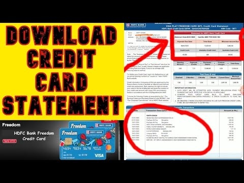 View forex card statement hdfc