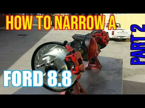 TFS: How to Narrow a Ford 8.8 Part 2 - Cut & Weld