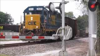 CSX Brooksville Sub Local Chasing from Tampa to Gowers Corner, Saturday 5/23/15 thumbnail