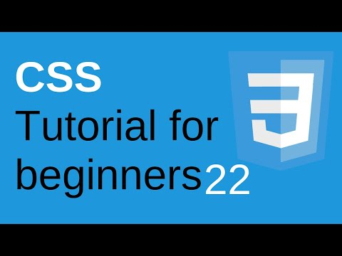 CSS Tutorial for Beginners Part 22 - CSS float and clear | Learn Web Technologies thumbnail