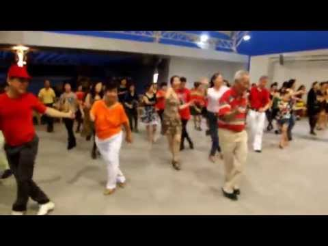 RASA  SAYANG -  Line Dance Walk Through & Demo by Liew Peng Wah