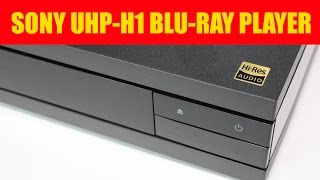 Sony UHP-H1 Hi-Res Audio Blu-ray player UNBOXING