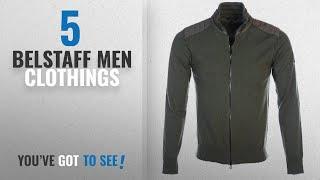 Top 10 Belstaff Men Clothings [ Winter 2018 ]: Belstaff Kelby Knitwear In Dark Pine Melange L