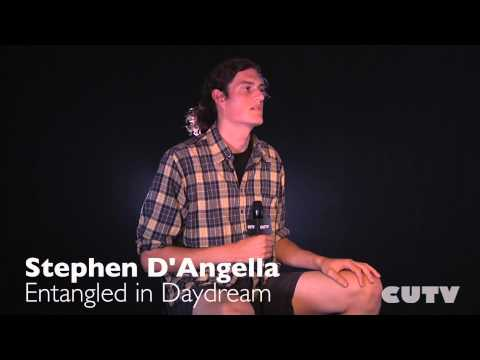 CUTV STUDIO SESSIONS Stephen D'Angella