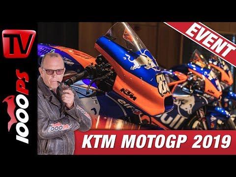 KTM MotoGP 2019 - Top Infos - scharfe Geräte