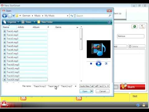 How to Burn an Audio CD with Nero