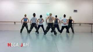 'Australia's Got Talent 2012' rehearsal footage Jasmine Meakin and The Mega Jam Dancers