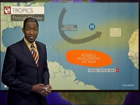 Caribbean Travel Weather - Friday August 4th, 2017