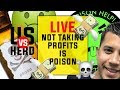 Not Taking Profits Is Poison - Options Trading Strategies