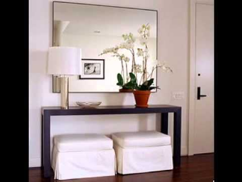 Modern contemporary console table design ideas - YouTube