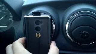 Магнитный держатель телефона в машине Nissan Almera (Logan, Sandero, Largus, Granta)(, 2017-04-21T18:31:03.000Z)