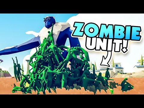 ZOMBIE MOD OVERPOWERS EVERY UNIT - TABS Early Access Release (Totally Accurate Battle Simulator)