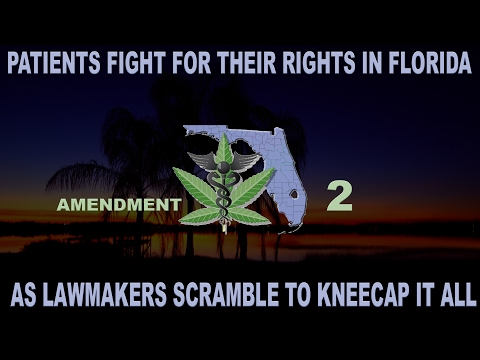 Florida Patients Fight for their Rights while Lawmakers try to Kneecap Amendment 2