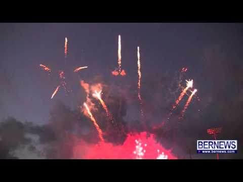 Fireworks Display At NatWest Island Games, July 13 2013