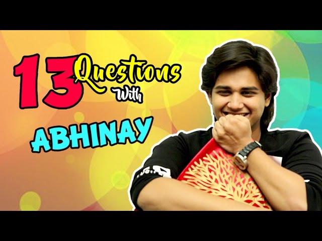 Top 13 Questions With Abhinay Berde | Ti Saddhya Kay Karte | Marathi Movie  2017