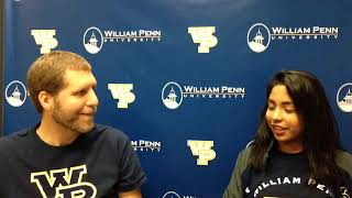 William Penn Athletics Andrea Jaquez Interview 9-28-18