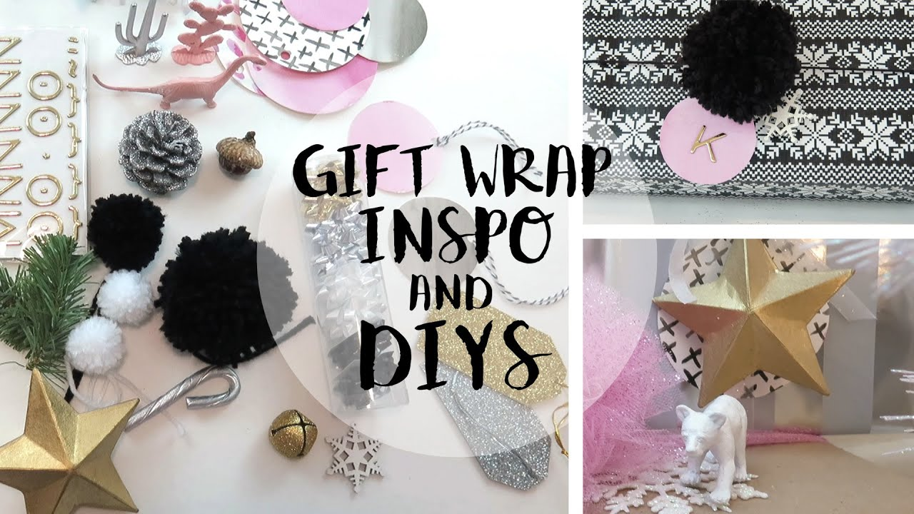 Christmas Gift Wrapping Ideas + DIYS 2015 - YouTube