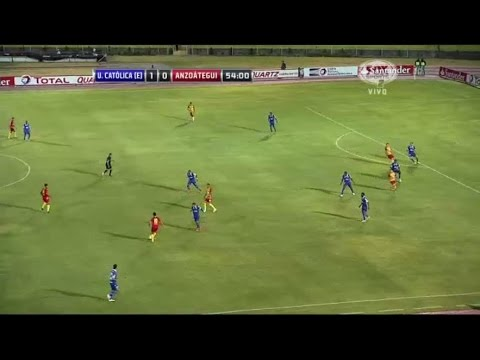 Universidad Católica de Quito 1 - 1 Deportivo Anzoátegui Copa Sudamericana 2014 from YouTube · Duration:  2 minutes 18 seconds