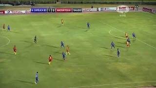 Universidad Católica de Quito 1 - 1 Deportivo Anzoátegui Copa Sudamericana 2014