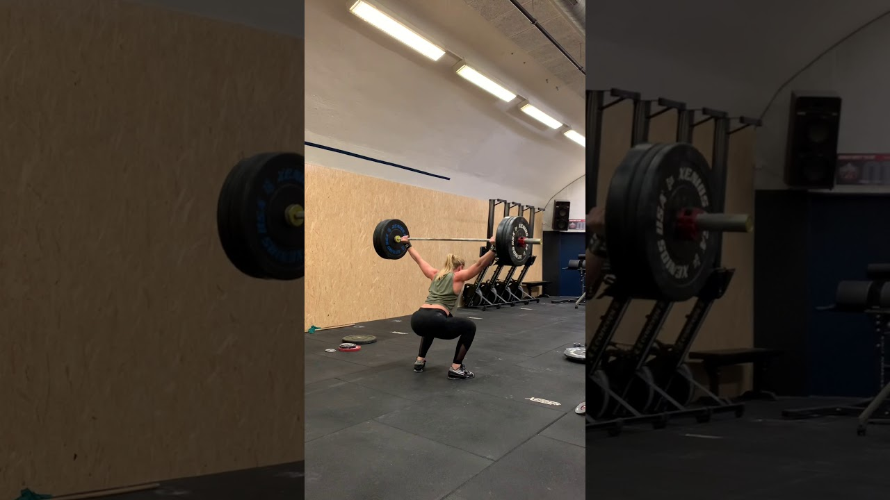 Snatch: 75 x 1 rep by Lydia Burke
