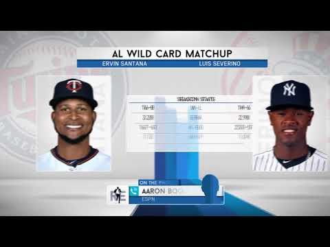 ESPN's Aaron Boone Previews the Yankees-Twins AL Wild Card Game | The Rich Eisen Show | 10/3/17